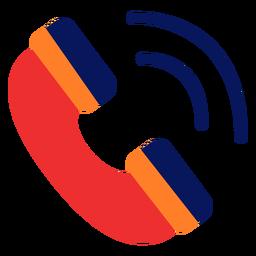 Icono de llamada telefónica llamada telefónica