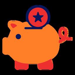 Icono de alcancía