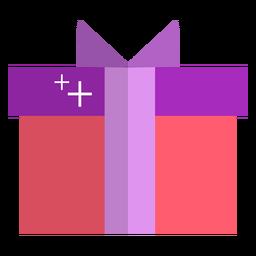 Icono de regalo rosa