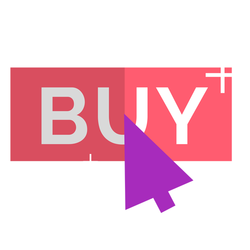Pink online buy icon