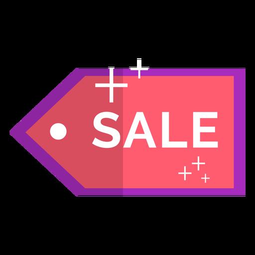 Icono de venta rosa