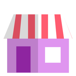 Pink store icon