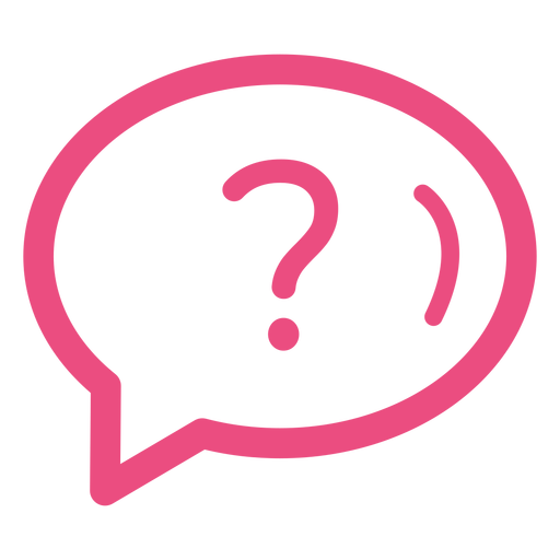 Question icon stroke Transparent PNG