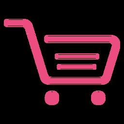 Shopping cart icon ícone de carrinho de compras