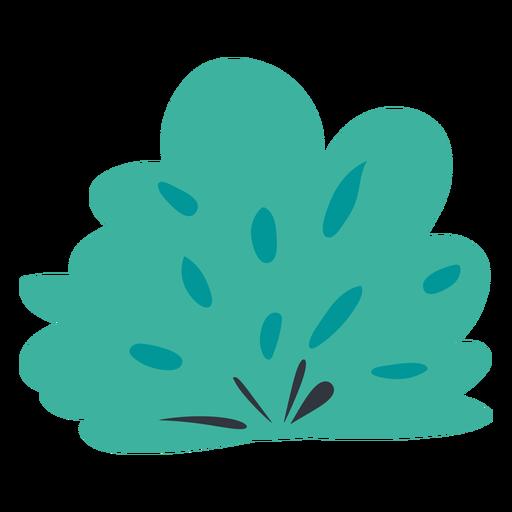 Simple bush flat
