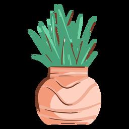 Ilustración de planta simple