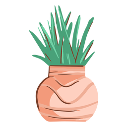 Simple plant illustration