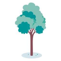 Simple tree illustration