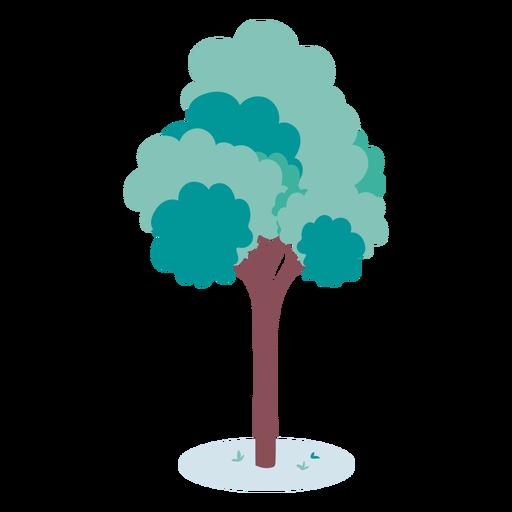 Ilustración de árbol simple