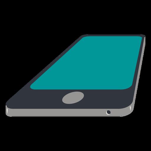Smart cellphone lying Transparent PNG