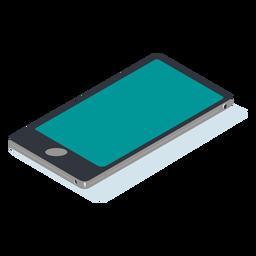 Isométrico del teléfono inteligente