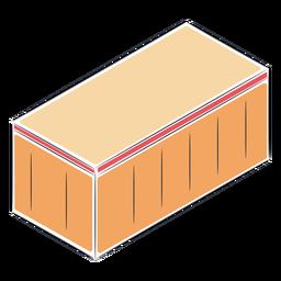Unidad de almacenamiento isométrica