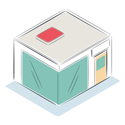 Store isometric