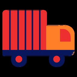 Truck icon flat