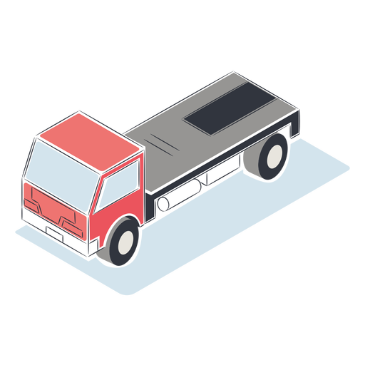 Truck without cargo isometric - Transparent PNG & SVG ...