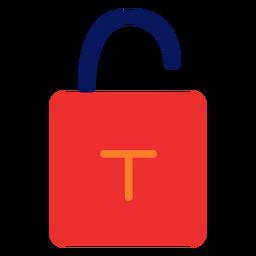 Unlock padlock icon