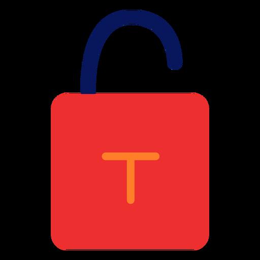 Desbloquear icono de candado