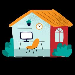 Arbeit von zu Hause aus strukturiert