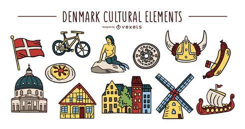 Conjunto de elementos culturales de Dinamarca
