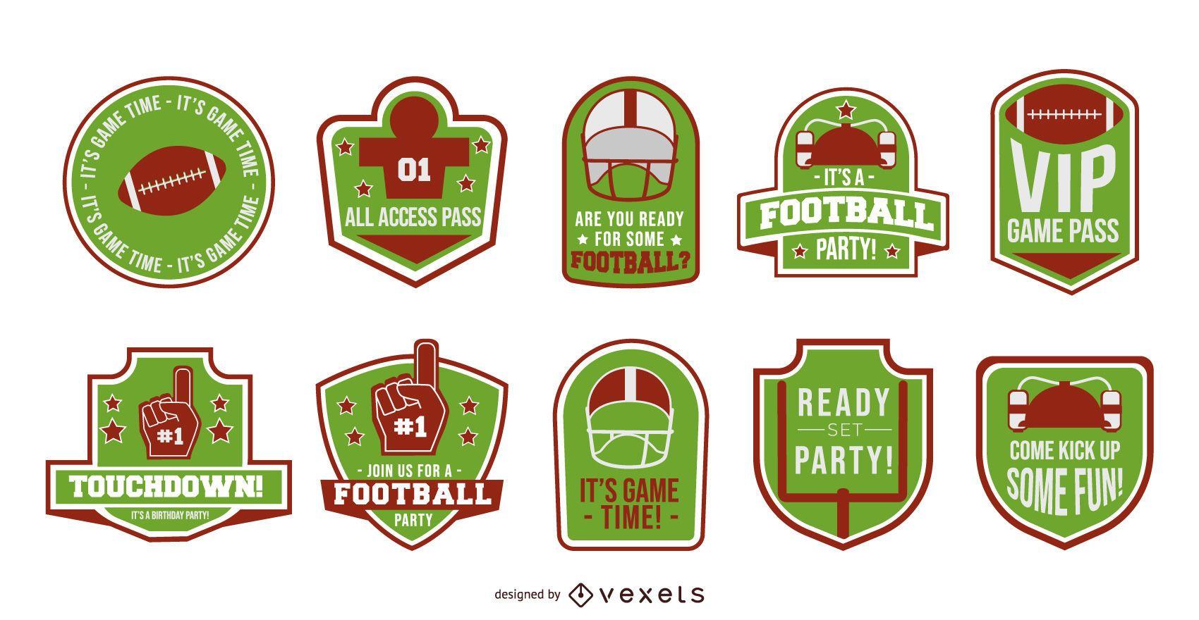Colección de insignias de fútbol