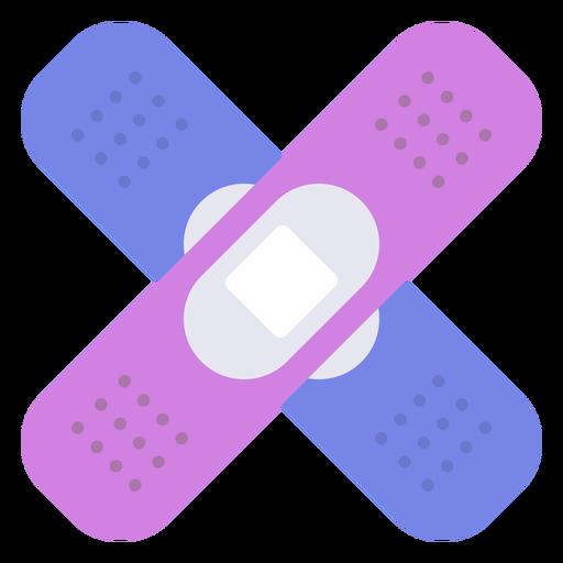 Adhesive bandage flat