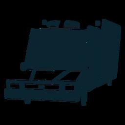 Parabrisas grande monocromo de ambulancia