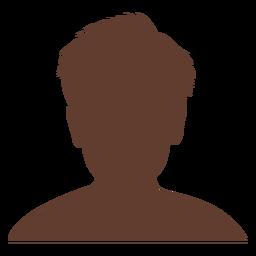 Avatar anónimo chico pelo corto salvaje