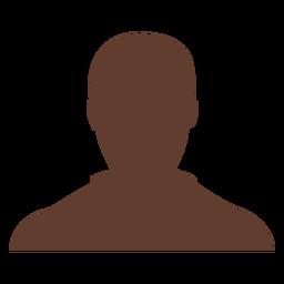 Avatar anónimo hombre calvo