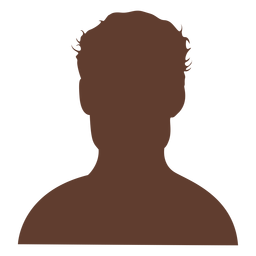 Anonymous avatar man short curly hair