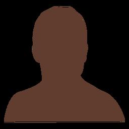 Anonymous avatar man short hair