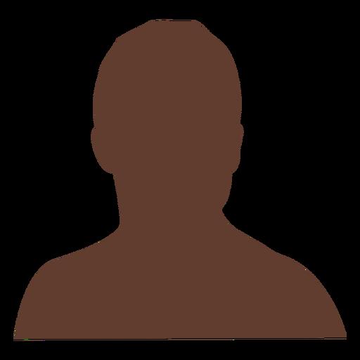 Anonymous avatar man short hair Transparent PNG