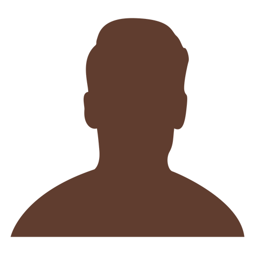 Anonymous avatar man short undercut hair Transparent PNG