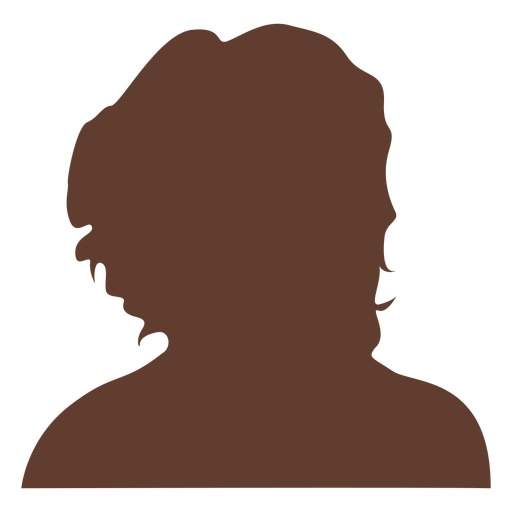 Anonymous avatar woman curly hair Transparent PNG