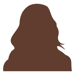 Anonymous avatar woman long hair