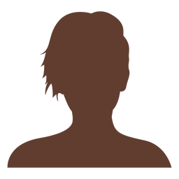 Anonymous avatar woman short hair