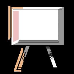 Curso de cavalete do artista