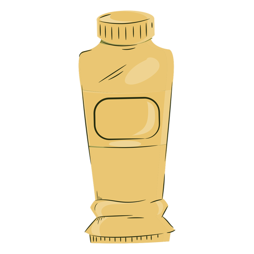 Artist yellow paint tube color Transparent PNG