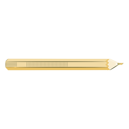 Artista color de lápiz amarillo