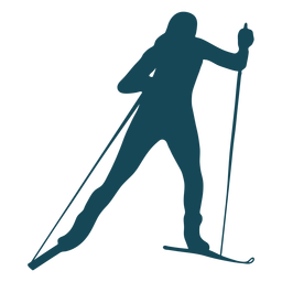 Deporte de silueta biatlista