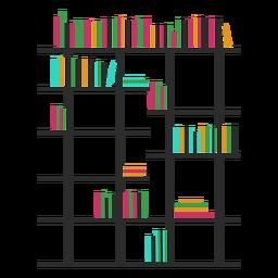 Bookshelves color modern