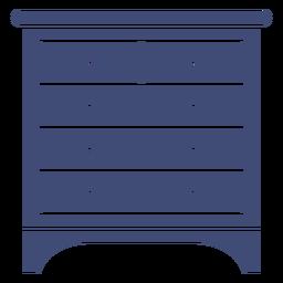 Mueble armario monocromo
