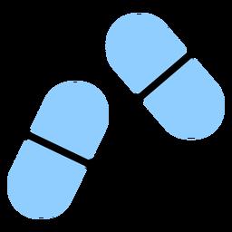 Capsule pill color
