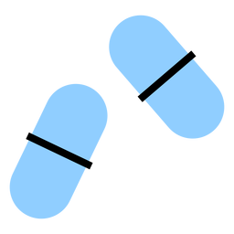 Color de la píldora de la cápsula