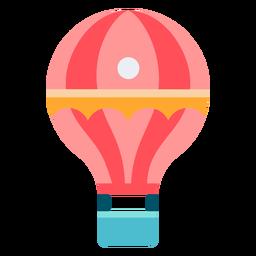 Color de globo de aire de carnaval