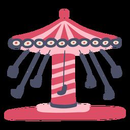 Cor de atração de carnaval
