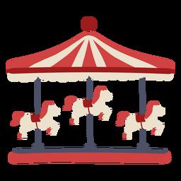 Carrusel de carnaval color
