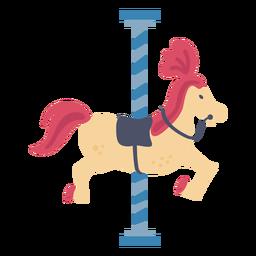 Cor do cavalo do carrossel de carnaval