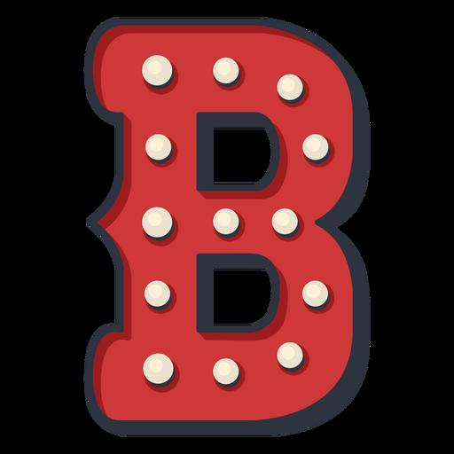 Carnival letter b color Transparent PNG