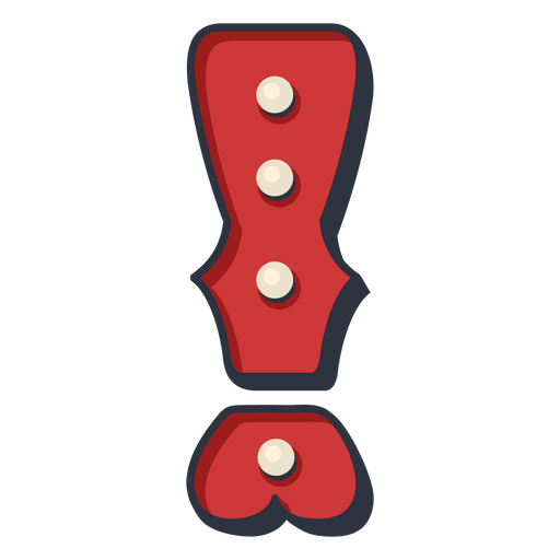 Carnival letter exclamation mark color Transparent PNG