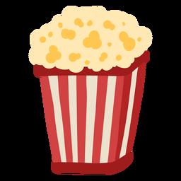 Karneval Popcorn Farbe
